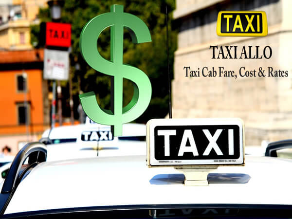 Taxi cab fare in United States