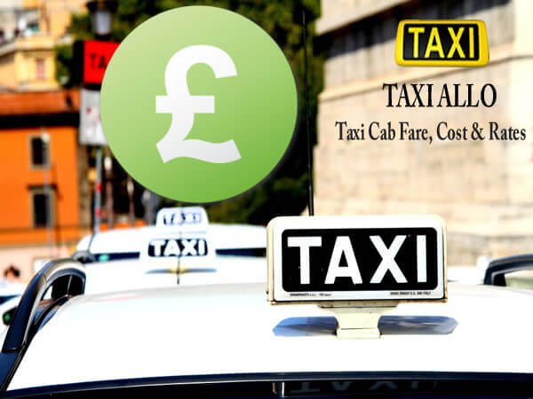 Taxi cab fare in United Kingdom