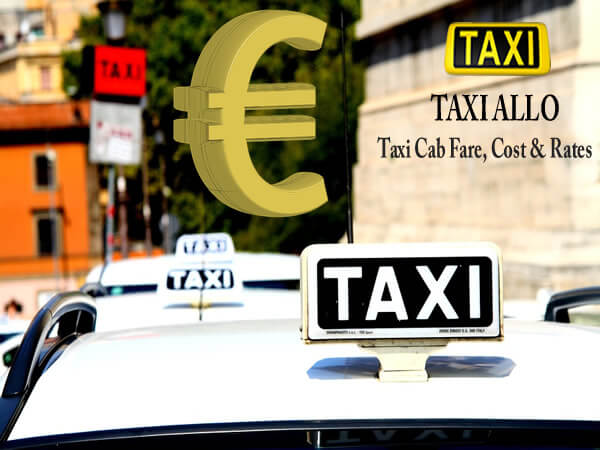 Taxi cab fare in Netherlands