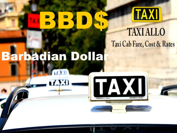 Taxi cab fare in Barbados
