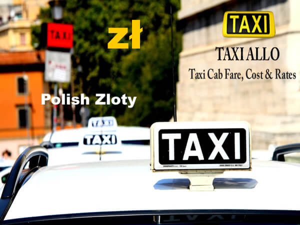 Taxi cab fare in Poland